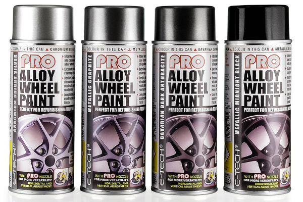 Pro Alloy Wheel Paint - Various Colours